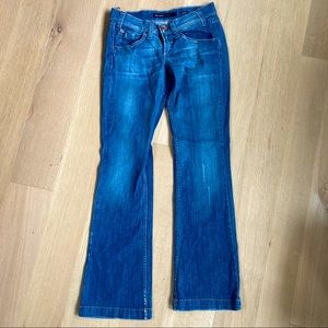 MISS SIXTY Ex Love Bell Bottoms Jeans 28